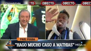 """Paul Pogba en 'El Chiringuito': """"Mbappé no es el culpable, sino que lo somos todos"""""""