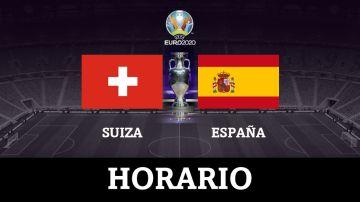 Suiza vs España: horario y dónde ver el partido de cuartos de final de la Eurocopa