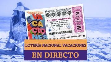 Sorteo Extraordinario Lotería Nacional de Verano 2021: Resultados de hoy, sábado 3 de julio, en directo