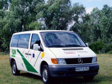 Se cumplen 25 años de la presentación de la Vito 108 E de Mercedes