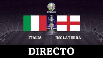 Italia - Inglaterra: la final de la Eurocopa, en directo