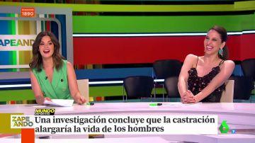 La sorprendente explicación de Maya Pixelskaya en directo sobre la castración