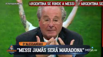 """D'Alessandro, tras la victoria de Argentina en la Copa América: """"Messi jamás será Maradona"""""""