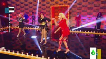 Así fue la poderosa actuación de tres concursantes de Drag Race al ritmo de 'Cuando tú vas' de Chenoa
