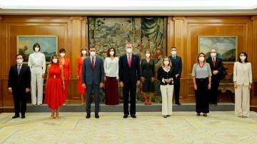 Toma de posesión de los nuevos ministros