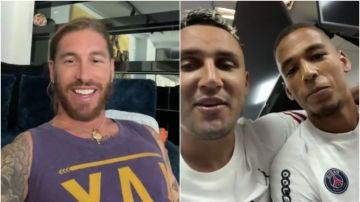 Así consiguió Sergio Ramos el '4' del PSG