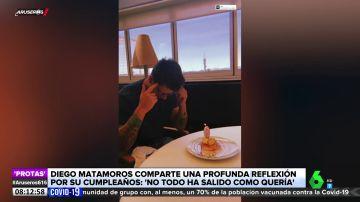 """La comentada reflexión de Diego Matamoros en su 35º cumpleaños: """"No todo ha salido como quería"""""""