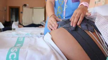 Una embarazada ingresada en un hospital