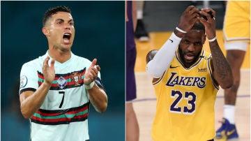 LeBron James y Cristiano Ronaldo, en el top 20 de deportistas más insultados en Twitter