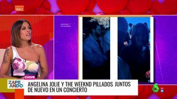 Angelina Jolie y The Weeknd, ¿juntos? Estas son las pruebas que podrían confirmar su relación