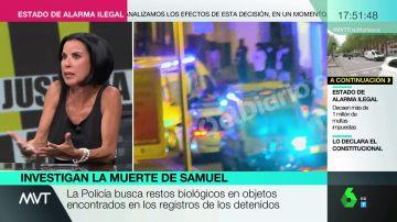 """Beatriz de Vicente, sobre el arma con el que mataron a Samuel: """"Creo que pudo ser un objeto que se encontraran en la calle"""""""