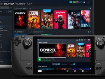Steam Deck, así es la alternativa de Valve a Nintendo Switch con juegos de PC