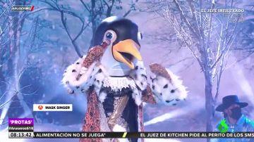 Mask Singer: Pepe Reina y María Zurita se esconden bajo las máscaras de Pingüino y Dragona