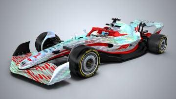 Así serán los monoplazas de F1 en 2022