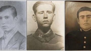 Lucio Jiménez, Teodoro Dionisio y Pablo Arrogante, tres de los desaparecidos por la represión franquista en Los Cerralbos, Toledo