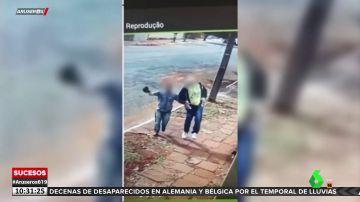 Un ladrón sufre un accidente y se fractura la pierna tras el robo en una casa