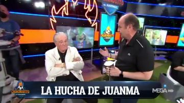 "La colecta de Juanma Rodríguez en 'El Chiringuito': ""Una monedita para Messi"""