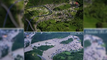 El antes y el después de Alemania tras las graves inundaciones