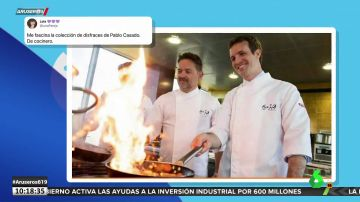 De cocinero a científico pasando por experto en jamones: todos los personajes que ha vivido Pablo Casado