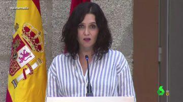 """El vídeo con el que Wyoming demuestra a Ayuso que ella """"ha contribuido"""" en que reduzcan Madrid a las """"cañas"""""""