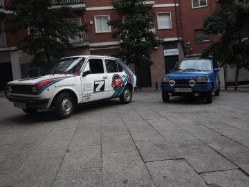 Renault 5 y Seat 125