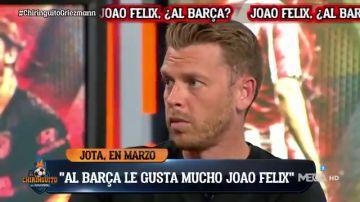 "Información de Jota jordi: ""Joao Félix gusta mucho a Laporta"""