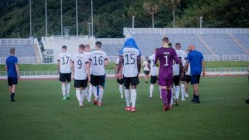 La selección alemana se retira del partido ante Honduras
