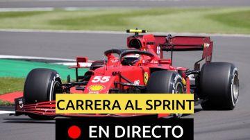 Carlos Sainz en el GP de Gran Bretaña