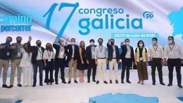 Líderes del PP en Galicia