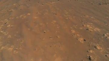 Imagen de Marte captada por la NASA
