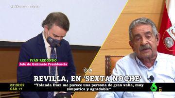 Revilla define en una dura frase el papel de Iván Redondo con Pedro Sánchez en el Gobierno