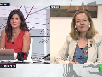Nadia Calviño, en ARV