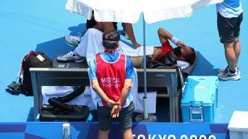 """Se suman varios tenistas a las quejas por las duras temperaturas en Tokio: """"Si muero os hacéis responsables"""""""