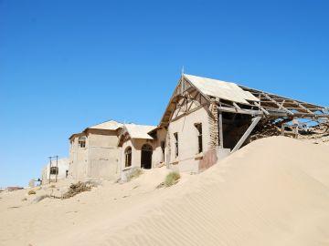 Ciudad fantasma de Kolmannskuppe, Namibia