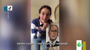 El mensaje de la reina Isabel de Inglaterra a una joven que pintó un retrato del Duque de Edimburgo