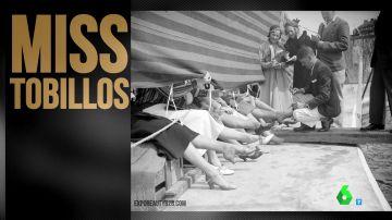 'Miss tobillos' o 'Miss NASA': los concursos de belleza más surrealistas del último siglo