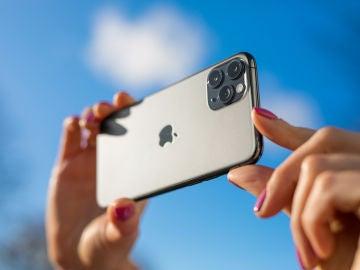 Sacar fotos con un iPhone