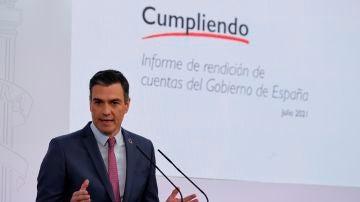 """Sánchez, sobre la ausencia de Aragonès en la Conferencia de Presidentes: """"Lamento que no esté la voz de Cataluña"""""""