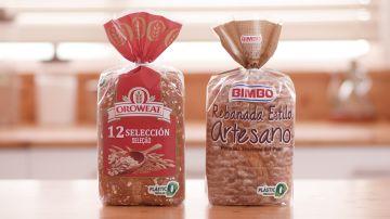 Así son los nuevos envases 'circulares' en el pan de molde de Oroweat y Bimbo 'Rebanada Estilo Artesano'