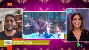 Joaquín Cortés desvela que ha recibido llamadas para grabar un disco tras ganar Mask SInger