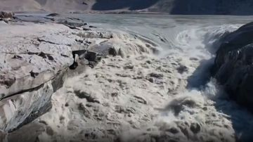 Imagen del deshielo en Groenlandia