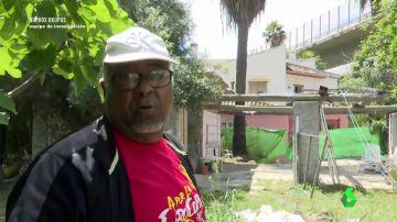 Ciro, un hombre que supuestamente se dedica al negocio de la okupación