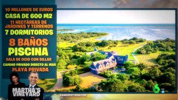 Así es la increíble mansión vacacional de los Obama en el pueblo de 'Tiburón'