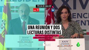 La 'pelea de gallos' de los presidentes autonómicos: las diferentes lecturas de la misma reunión según el signo político