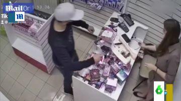 Intento de robo en Rusia