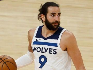 Ricky Rubio, con los Wolves