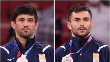 Los atletas georgianos expulsados de los JJOO