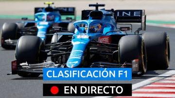 Fernando Alonso, piloto de Alpine, en el GP de Hungría