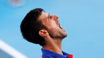 Novak Djokovic, grito a cielo