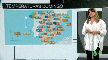 """España arranca el mes de agosto con temperaturas """"anormalmente bajas"""", lluvias, tormentas y viento"""